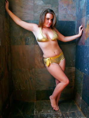 Shower time with samantha