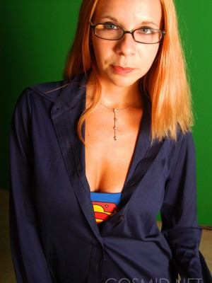 Jenny as super girl