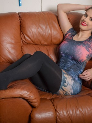 Jocelyn In The Leather Chair