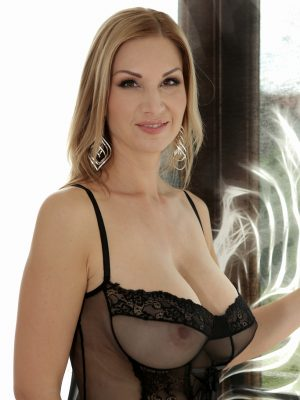 Blonde beautiful MILF Carol Gold