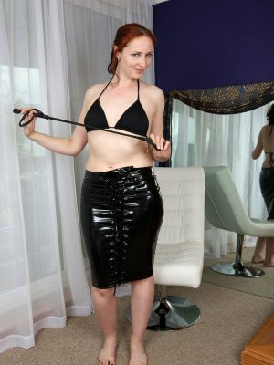 Sexy kinky redhead Courtney Haze