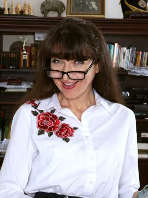 Ivana Slew Studious and Sexy