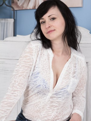 Nikita undresses naked plus puts about a wild handsome show