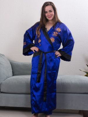 Kelly Morgan strips off her silk robe today