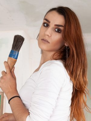 Nikki Heat enjoys painting and getting naked