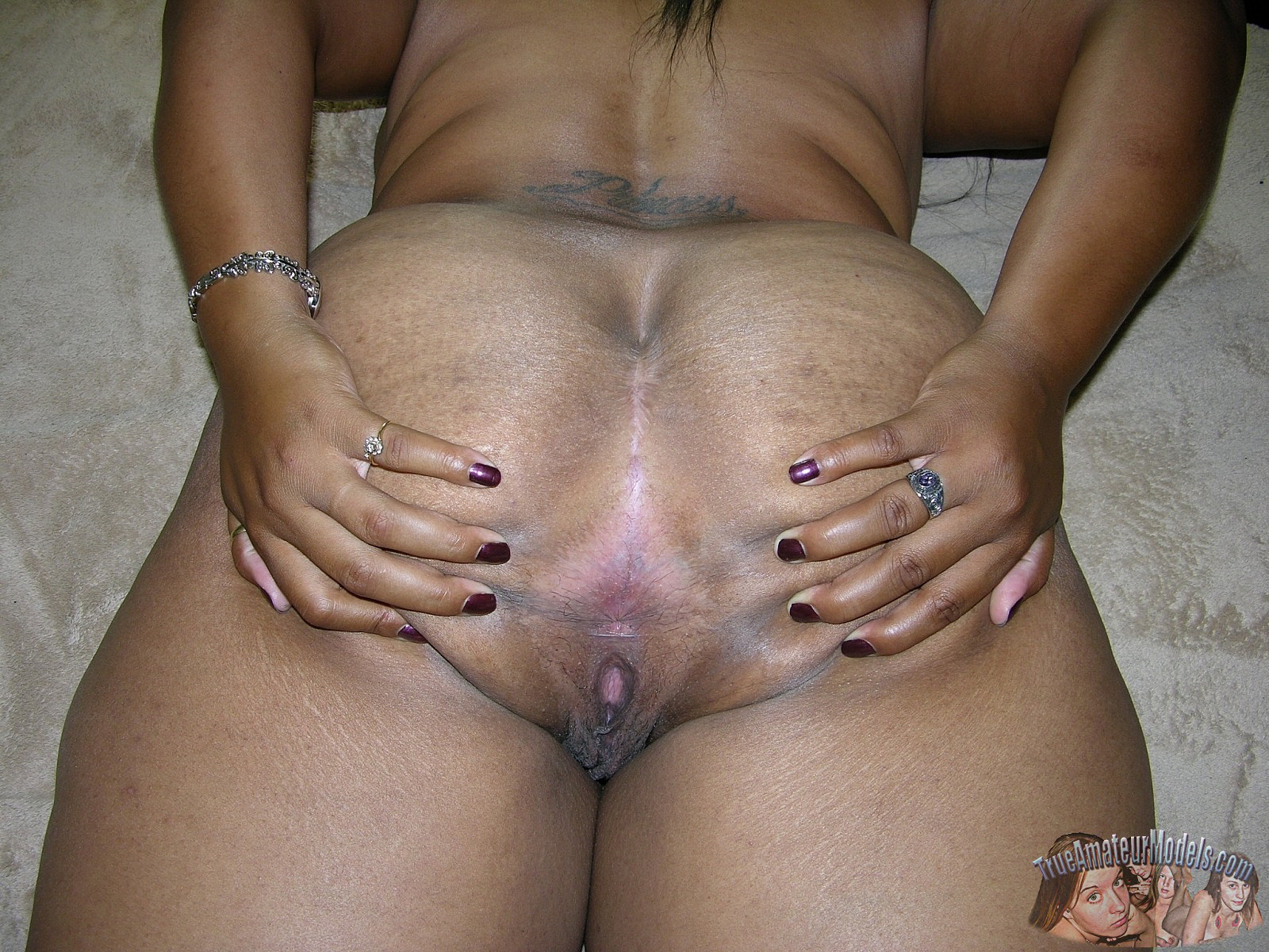 Black Bbw Peels Off Bare And Acquires Pussy Creampied  Dscn1937-8475