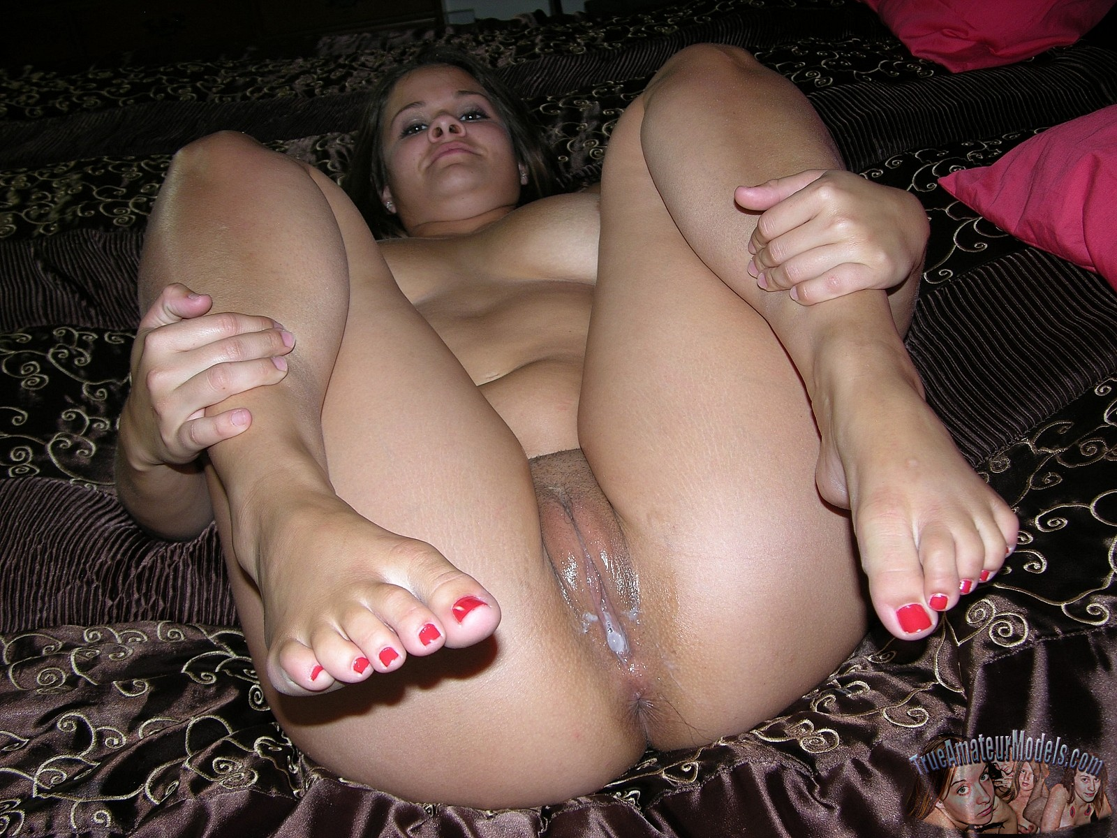 Thick Latina Teen Creampie