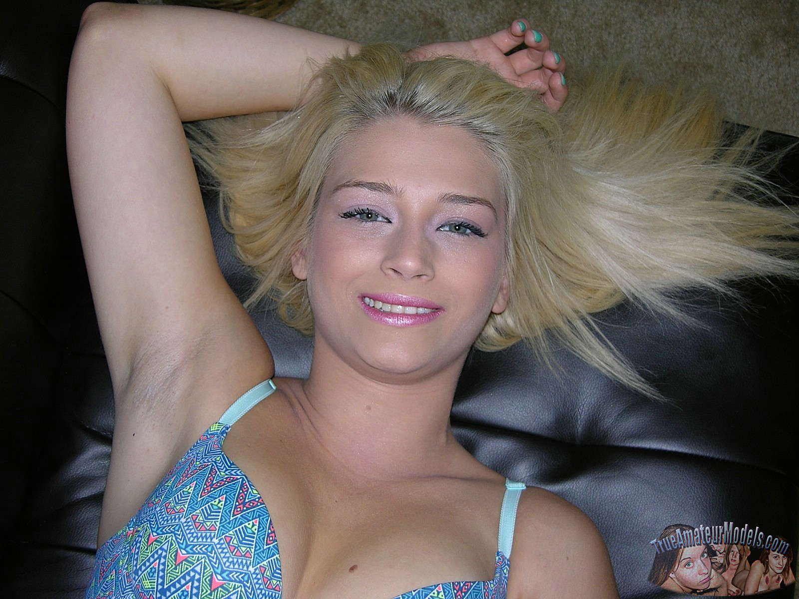 models True blonde amateur