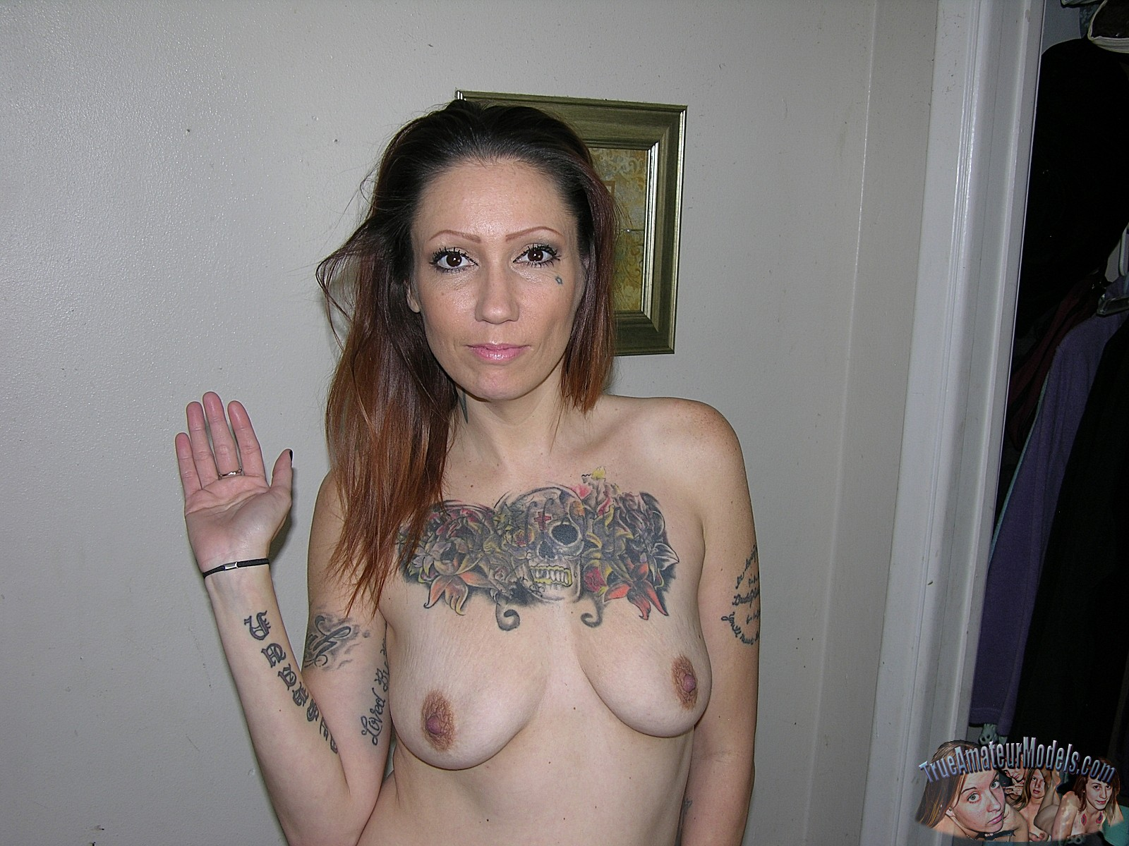 Busty babe wife