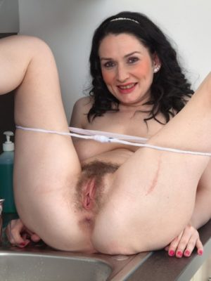 Hairy mature woman gets anal and facial by her crazy doctor 8