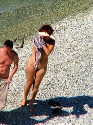 Voyeur beach photos