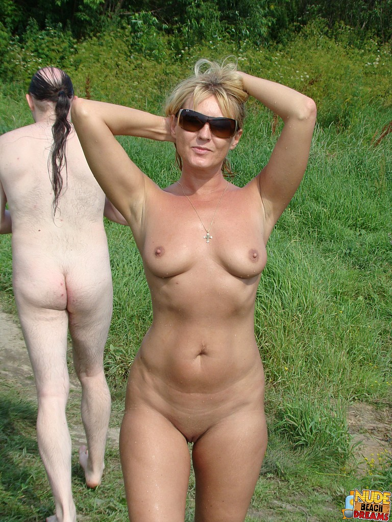 Mature women caught nude