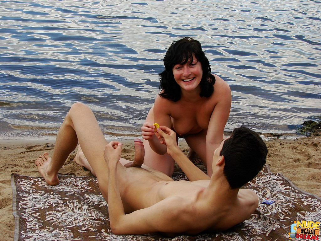 Not absolutely amateur public blowjob beach was