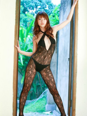 In lace clothing shows steamy kinks at screen
