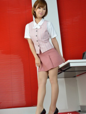 Is such elegant dame in office outfit