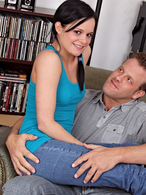 Cute Jenna Ross acquires her taut pussy tucked with dick.