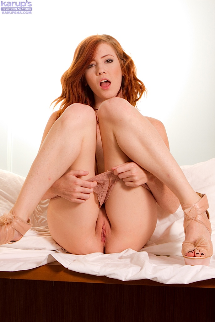 Pussy redhead wet