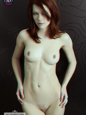 marvelous bazookas and well circular butt. This younger redhead is primary amazing and comes in full 3D.