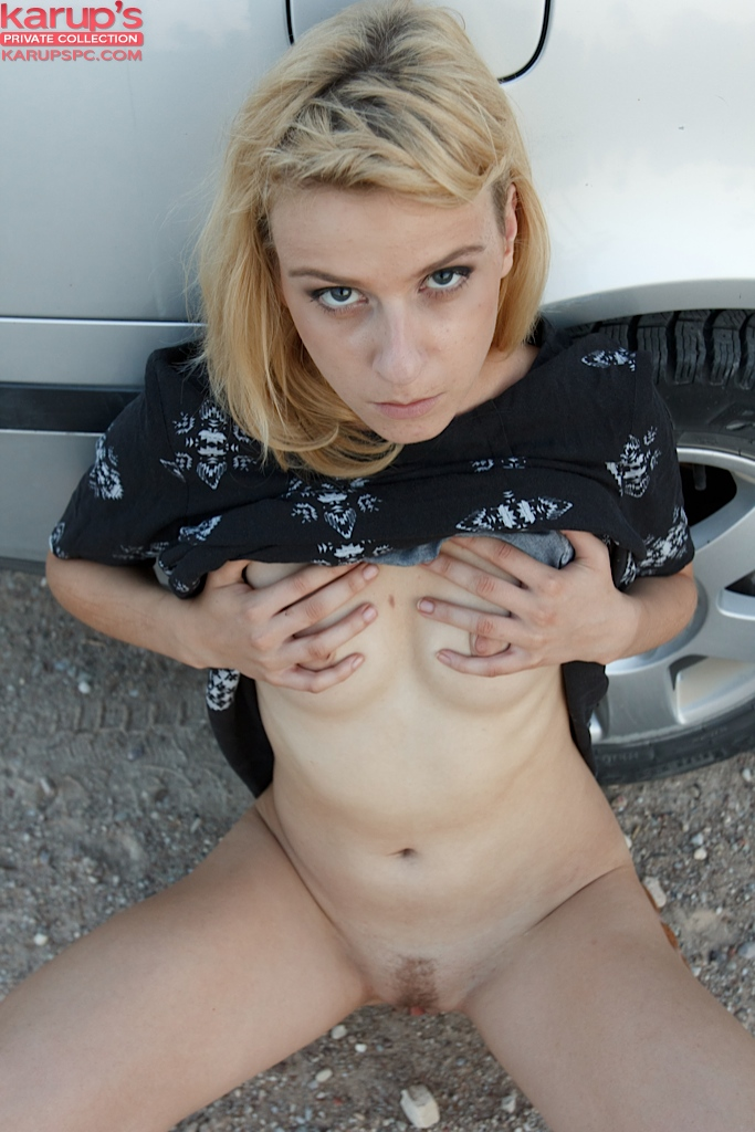sexy-blond-amy-shangela-fingered-on-her-car-5