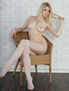Cute undressed girl