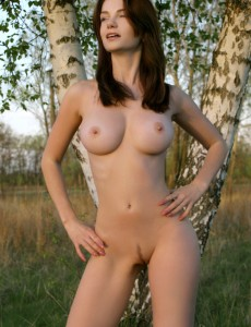 Booby beauty outdoor