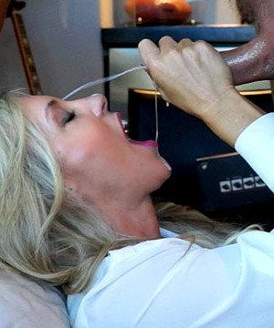 Doctor Wife Gargles Cock To Test Semen