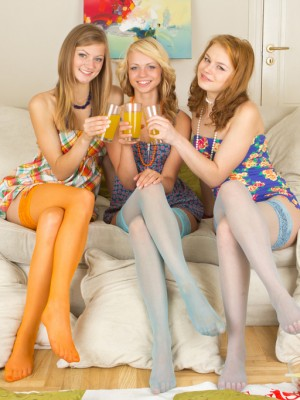 Super hot teen celebration