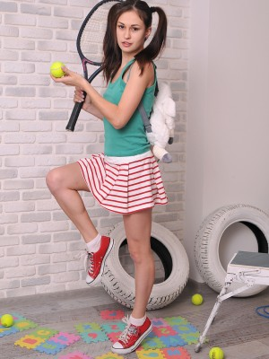 Marvelous sport girl