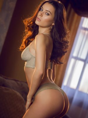 Lana Rhoades Shows Off Her Tight Body in Stunning Lingerie
